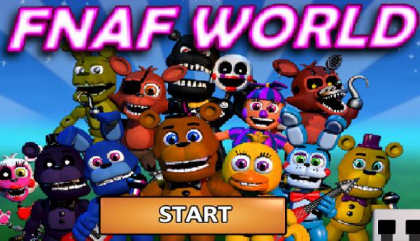 Five Nights at Freddy's World Free Online
