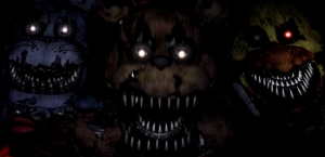 Five Nights At Freddy's 4 Animatronic Movements/Patterns