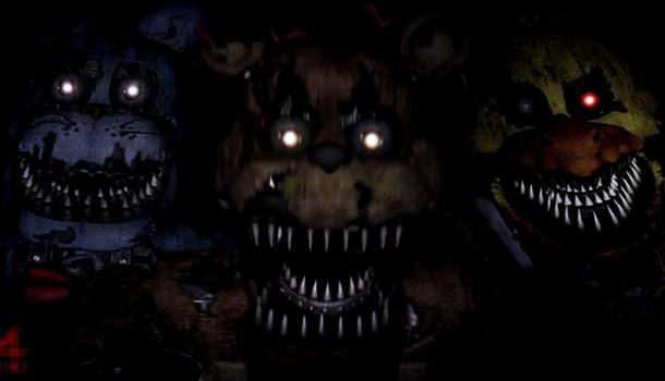 Five Nights At Freddy's 4 Animatronic Movements/Patterns