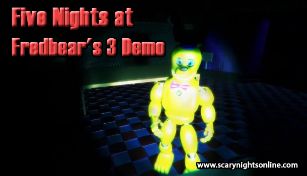 Five Nights at Fredbears 3 Demo
