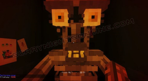 Fnaf Dark Map 1.13.2 for Minecraft