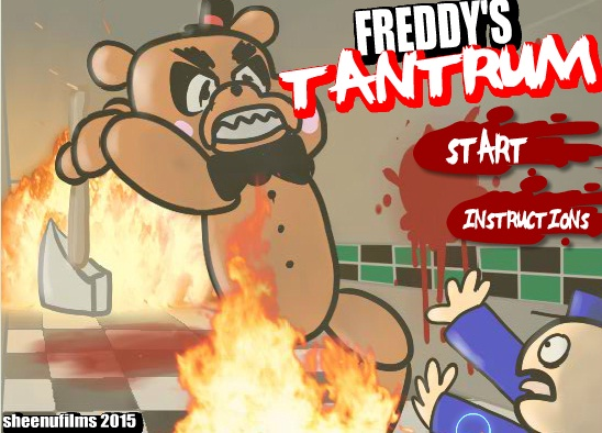 Five Day's At Freddy's: Freddy's Tantrum!