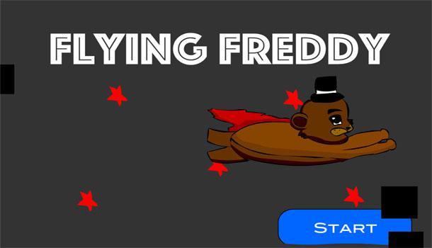 Flying Freddy – A FNAF Flash Game