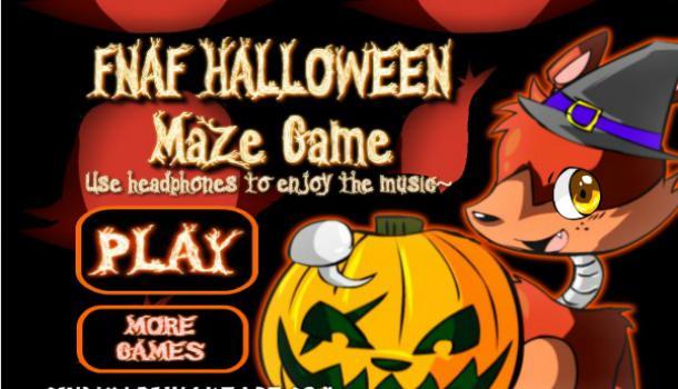 FNAF Halloween Maze Game